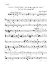 Slavonic Rhapsody No.2 in G minor Op.45 (Cello)