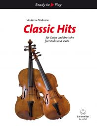 Classic Hits for Violin & Viola (2 Playing Scores)