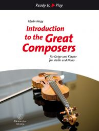 Introduction to the Great Composers: 15 Easy Pieces (Violin & Piano)