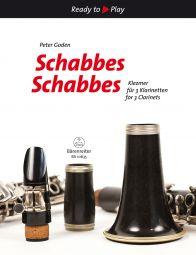 Schabbes, Schabbes: Klezmer for 3 Clarinets