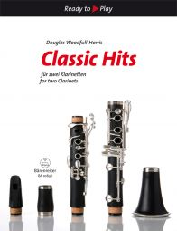 Classic Hits for two Clarinets (2 Playing Scores)