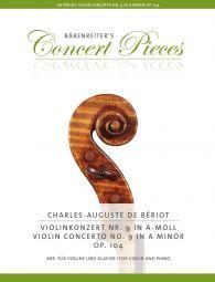 Violin Concerto No.9 in A minor Op.104 (Violin & Piano)