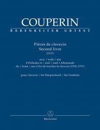 Pièces de clavecin for Harpsichord Book 2 - 1717