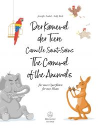 The Carnival of the Animals for two Flutes (Playing Score)