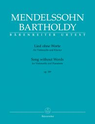 Song without Words for Violoncello and Pianoforte Op.109