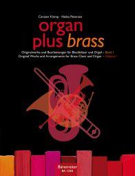 organ plus brass, Volume I (Organ Score with Wind Score in C)