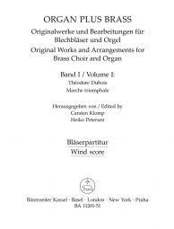 organ plus brass, Volume I (Wind Score in C)