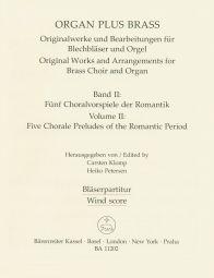 organ plus brass, Volume II (Wind Score in C)