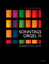 Sonntagsorgel, Volume III: Easy Organ Music