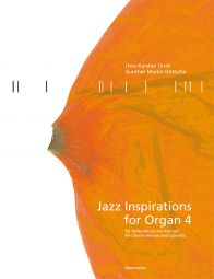 Jazz Inspirations for Organ 4: Popular Music for Church Services and Concerts