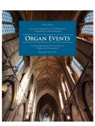 Organ Events: Concert Organ Music from four Centuries