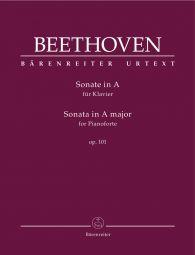 Piano Sonata in A major Op.101