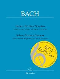 Suites, Partitas, Sonatas Transcribed for Harpsichord