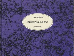 Mass No.6 in E-flat major D 950 (Facsimile, hardback)