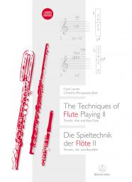The Techniques of Flute Playing II: Piccolo, Alto & Bass Flute (Paperback)