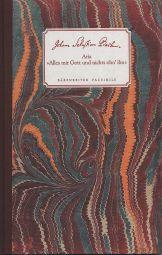 Alles mit Gott und nichts ohn' ihn (BWV 1127) (Hardback)