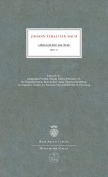Cantata No.33 Allein zu dir, Herr Jesu Christ (BWV 33) (Facsimile, hardback)