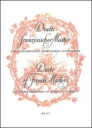 Duets by French Masters (Boismortier, 2 Suites from Op.27; Naudot, 2 Suites from Op.10)