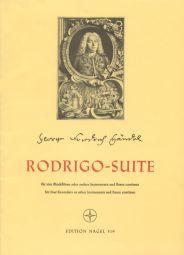 Rodrigo Suite (HWV 5) Recorder Quartet