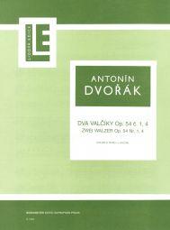 Two Waltzes Op.54 Nos 1 & 4 (Violin & Piano)