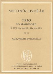 Piano Trio No.1 in B-flat major Op.21 (Miniature Score)