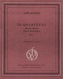 String Quartet No. 3 (Score & Parts)