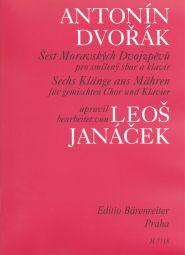 6 Moravian Duets arranged by Leos Janacek