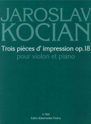 Three Pieces Op.18 for Violin & Piano