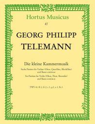 Little Chamber Music: 6 Partitas for Violin (Flute, Oboe, Recorder) & Basso continuo (Score & Parts)