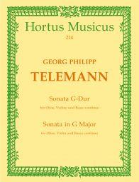 Sonata in G major for Oboe, Violin & Basso continuo TWV 42: G8