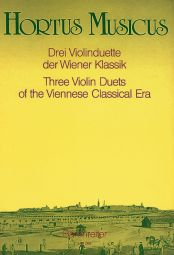 Three Violin Duets of the Viennese Classical Era
