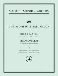 Trio Sonatas , Volume 4: Nos. 7-8 (E major, F major)