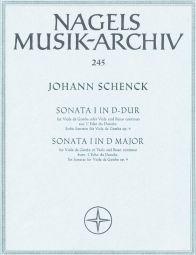 Sonata in D Op.9/1 from L'Echo du Danube