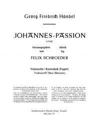 Saint John Passion (1704) Violin II