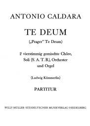 Te Deum Full Score