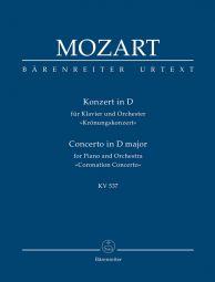 Concerto for Piano No.26 in D major (K.537) (Coronation) (Study Score)