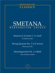 String Quartet No.1 in E minor (From My Life) (Study Score)