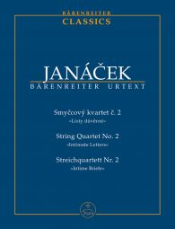 String Quartet No.2 (Intimate Letters) (Study Score)