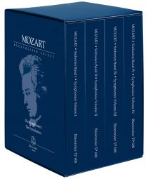 Symphonies Complete (4 Study Scores in a box set)