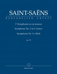 Symphony No.3 in C minor Op.78 (Organ) (Study Score)
