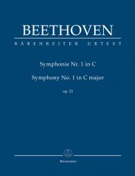 Symphony No.1 in C major Op.21 (Study Score)