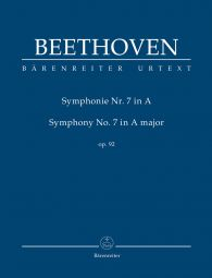 Symphony No.7 in A major Op.92 (Study Score)
