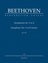 Symphony No.9 in D minor Op.125 (Study Score)