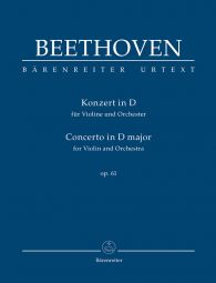 Concerto for Violin in D major Op.61 (Study Score)