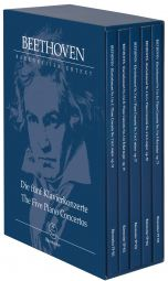 The Five Piano Concertos (Study Scores in box set)