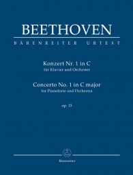 Concerto No.1 in C major Op.15 for Piano (Study Score)