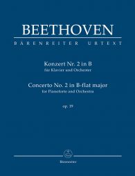 Concerto No.2 in B-flat major Op.19 for Piano (Study Score)