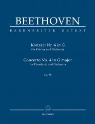 Concerto No.4 in G major Op.58 for Piano (Study Score)