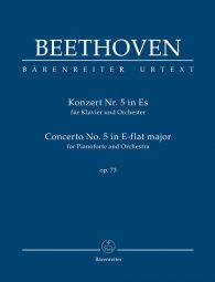 Concerto No.5 in E-flat major Op.73 for Piano (Study Score)