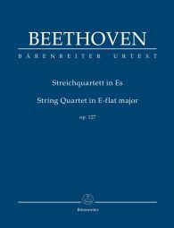 String Quartet in E-flat major Op.127 (Study Score)